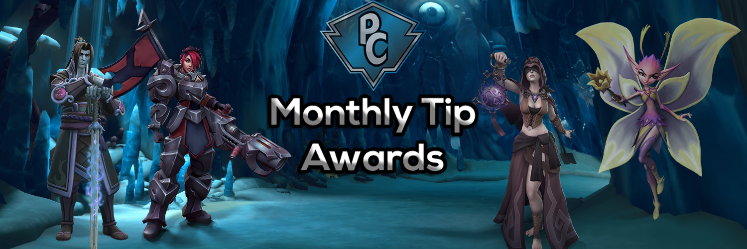 Monthly tip             awards